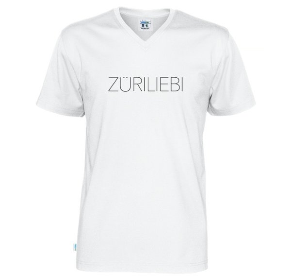 ZÜRILIEBI - Men T-Shirt V-Neck